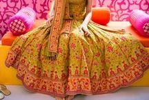 Mehendi Lehengas & Anarkalis / Looking for inspiration for your Mehendi outfits...find all that which has inspired me - choose from a wide range of Anarkalis and Lehengas...