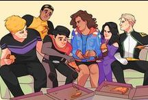Young Avengers / talk wiccan to me