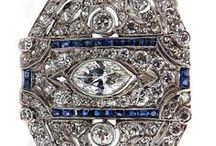 Diamonds, glitz and gold / Jewelry pieces and inspiration