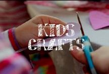 Moore: Kids' Crafts / Crafting with your kids is a perfect way to spend time together as you help them express their creativity!  / by A.C. Moore Arts & Crafts