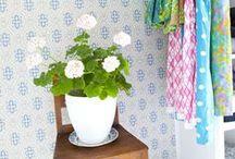 Walk in closet / klädkammare / Vi byggde oss en walk in closet av ett gästrum. / by Hildas