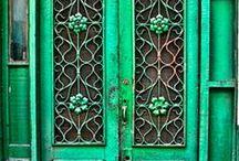 doors / by Andrew-Charlotte Alvarado