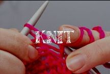Moore: Knit / Two needles and some yarn can create something wonderful!