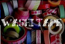 Moore: Washi Tape / It's all the rage & its uses are endless!