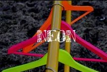 Moore: Neon / Add a pop of color to your life with one of these electric craft projects!