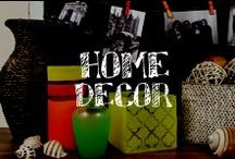 Moore: DIY Home Decor / Home is where the heART is. Whether you create from scratch or transform something old into something new, use your creativity to show off your personality in your living space!
