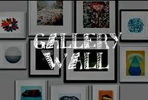 Moore: Gallery Walls / Whether photograph, word art or painting, mix & match your favorite images and curate your own gallery on any wall of your home!