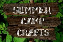 Moore: Camp Crafts / Summer fun has just begun! This collection of crafts is perfect for hours of creativity. / by A.C. Moore Arts & Crafts