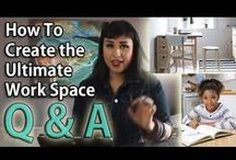 Kitchen Table REMIX ::: Inspiration from our Q & A episode / A viewer writes in with another design & lifestyle question.   A Dad wants to know how he can turn his kitchen table into a homework station and then back into a kitchen table once again! This is a major question for anyone living in an apartment or in the city.   In this episode I share tips that are great for students of all ages! These tips also apply to anyone who often works from home. Reeemix!   SUBSCRIBE TO OUR YOUTUBE CHANNEL FOR MORE!   / by LIFESTYLE REMIX with Rebecca Gitana