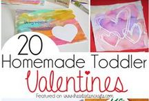 Kids Valentine's Day Craft Ideas! / Looking for some Valentine's Day craft ideas? Need inspiration for a different Valentine's Day card? Look no further! Over 250 ideas here.