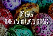 Moore: Egg Decorating / We've poached some of the most eggs-traordinary egg decorating ideas we could find on Pinterest and scrambled them together to create this board. If holiday brunch planning has you totally fried, don't worry about cracking under pressure – these Easter eggs will go over easy, even with the most hard-boiled crowd.