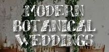Moore: Modern Botanical Weddings / The Modern Botanical bride is a study in contrasts, at once idealistic and pragmatic, simple and complex, non-conforming yet deeply invested in community. You value the different and the quirky, experimenting with unconventional spaces and materials, and exploring contrasts in textures and moods within a simple, neutral palette.