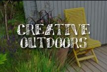 Creative Outdoors / Your creativity is as big as the great outdoors, so why not express yourself al fresco? Featuring water resistant and weatherproof finishes from DecoArt and A.C. Moore, these furnishings and arts and crafts projects will add personality and charm to any patio, deck or porch.