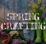 Spring Crafting / A.C. Moore has come down with a severe case of Spring Fever. Sure you'll see a baby animal or two, pastels, greenery and florals (we know… groundbreaking…) but you'll love these fresh new spring decorating and crafting ideas that will make you want to throw open the windows and let the sunshine in!