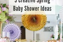 Baby Shower Ideas / Ideas & inspirations for baby shower games, cakes, themes, favors, decorations and more! Whether you're looking for baby shower ideas for boys or girls, you're sure to be inspired.