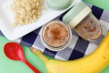 Wholesome Baby Food / Whether you choose homemade baby food or store bought, check out these wholesome baby food options.