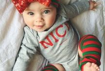 Holiday Inspirations / All the holiday inspiration you need for baby's first holiday! Baby presents, holiday traditions, festive baby recipes, adorable baby holiday photo ideas and more, all in one place.
