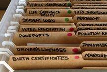 Organization! / by Andrea Olson