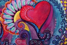 """Happy Hearts / """"If there are as many minds as there are men, then there are as many kinds of love as there are hearts.""""  ~Leo Tolstoy (""""Anna Karenina"""") / by Janet Merryman"""