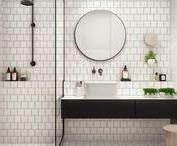 vtwonen ❥ BADKAMER / Badderen, douchen en tanden poetsen doe je allemaal in de badkamer. Een badkamer is dus onmisbaar in een huis. Maar hoe maak je van jouw badkamer nou iets bijzonders? Hoe laat je jouw badkamer bij jouw woonstijl passen? Laat je inspireren en bekijk allerlei soorten badkamers, kies de stijl van een badkamer die bij jou past en wassen wordt een feestje.