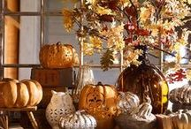 ** ~ Fall Decor and Ideas ~ ** / I love fall almost as much as I love Christmas! I decorate in Sept. thru Nov. for fall. So colorful and wonderful. Find some inspiration and ideas here! #Fall #colorful #decor #organized #TidyUpSTL