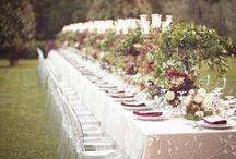 Wedding Tablescapes / #weddingtableideas #weddingreceptionlocations #weddingreceptiontables