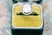 Engagement Rings / #uniqueengagementrings #Goldengagementrings #oneofakindengagementrings