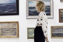 art on the wall / gallery walls  / by heather lipner
