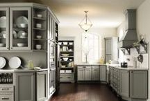 Grey Kitchens / by MasterBrand Cabinets