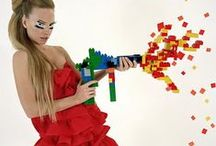 Play Your Heart Out / I like this idea of toys and childhood and incorporating it into fashion.
