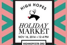 Holiday Market 2014 / Looking forward to Holiday Market 2014 / by High Hopes Therapeutic Riding
