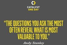 #CatalystOneDay / by Catalyst