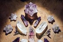 February: Amethyst / February's birthstone is Amethyst, a calming stone rendering balance, patience, and peace.