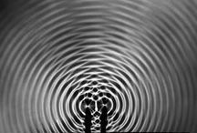 """Light & Sound-waves-cymatics / Cymatics (from Greek: κῦμα """"wave"""") is the study of visible sound and vibration"""