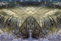 My Photos (Water-Light-wave-sanctuaries) / ...every picture I see can turn into a door that invites me into its sanctuary... and come home... ( photos taken by me from waves and then manipulated in Photoshop)