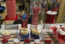 Patriotic Flair / Celebrate the USA with these recipes, crafts, and inspiration.