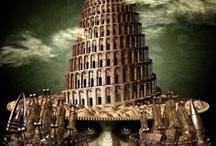 "Art on ""mind-Tower of Babel"""