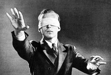 "Art on ""blindfolded to sight of light"""