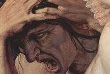 """Art on """"envy & jealousy"""" (7 vices)"""
