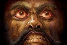 "Art on ""wrath & rage"" (7 vices)"