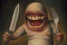 "Art on ""gluttony & gula"" (7 vices)"