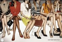 FROW  / Check out the front rows in preparation for another fashion week.....