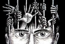 "Art on ""imprisonment of mind"""