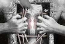 """Art on """"liberation of body imprisonment"""" / ...I am not a body...I am free...I am still as GOD created me..."""