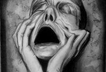 "Art on ""depression & despair"""