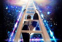 """Art on """"ladders & stairways to heaven"""""""