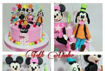 cakes / Cakes fondant gumpaste figure