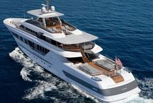 Luxury Power Yachts / Super and Mega yachts by day / by David Belsham