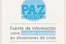 EducaPaz - PazAdentro / Tips, ideas, recomendaciones y sugerencias para las familias, en el manejo de situaciones de estrés o crisis. Puedes imprimir y compartirlas con quienes no tienen acceso a redes.