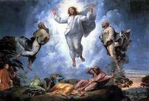 "Art on ""Transfiguration of Christ"""